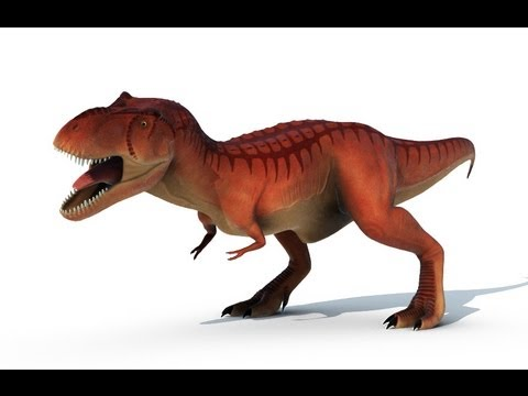 Dino Damage T rex Animation