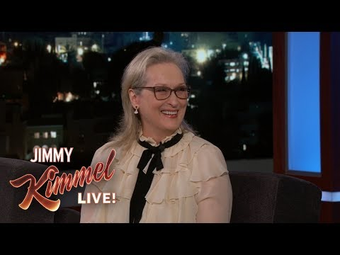 Meryl Streep on Mariah Carey Bitch Stole My Seat