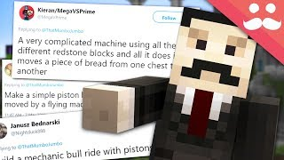 I BUILD your SILLY REDSTONE IDEAS! #15