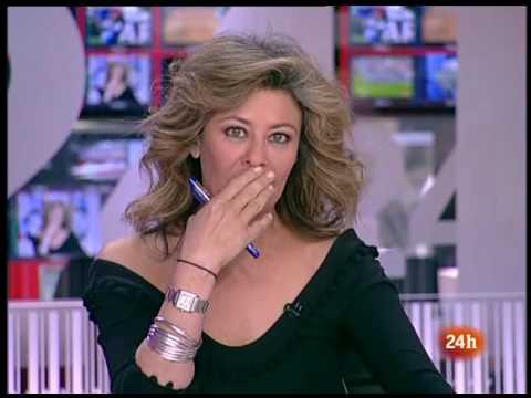 Presentadora haciendo tonterias pillada in fraganti Beatriz Pérez Aranda