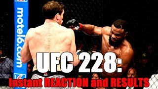 UFC 228: Tyron Woodley vs Darren Till -- Reaction and Results