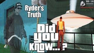 GTA San Andreas Secrets and Facts 10