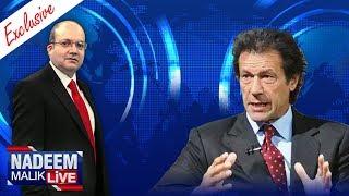 Imran Khan Exclusive | Nadeem Malik Live | SAMAA TV | 14 Nov 2017