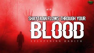 SHAYTAAN FLOWS THROUGH YOUR BLOOD CELLS!