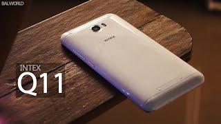 4000 Rupee Smartphone - Intex Q11 Review - Cheapest VR Smartphone