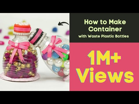 Xxx Mp4 Plastic Bottle Craft Recycling Ideas How To Make Container With Waste Plastic Bottles 3gp Sex