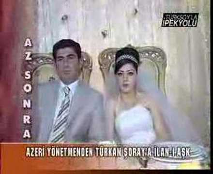 Azerbaycan Bakü de düğün toyu Azerbaijan