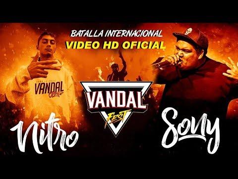 NITRO Chile vs SONY Argentina INCREIBLE BATALLA VANDAL FEST