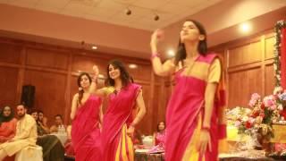 Girls Dance at Pulok & Bushra's Holud