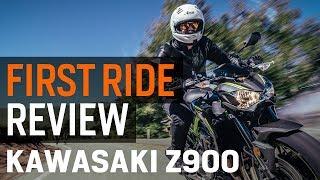 Kawasaki Z900 First Ride Review at RevZilla.com