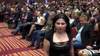 Dr Ruja Ignatova at Onecoin London event.