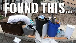 FOUND ALL OF THESE TREASURES IN THE TRASH - Trash Picking Ep. 153