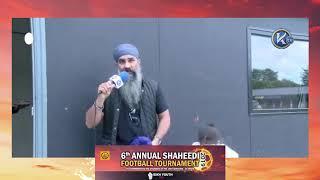 Annual Shaheedi Football Tournament 2019 - Speech By Bobby Singh (LoveYourPostcode)