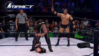 Who Will be James Storm's Tag Team Partner? Khoya, Manik and Abyss Face Off (Apr. 10, 2015)