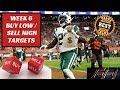 2018 Fantasy Football Lineup Advice  - Week 6 Buy Low / Sell High Trade Targets