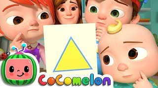 Shape Song | CoCoMelon Nursery Rhymes & Kids Songs