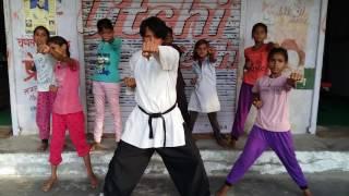 Martial art bollywood actor Vishjosh sharma