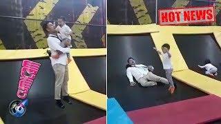 Hot News! Main Trampolin Bareng Rafathar, Raffi Ahmad Nyerah - Cumicam 18 Maret 2018