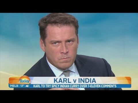 Karl Stefanovic eats his words with world s hottest curry after social media backlash