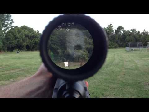 Burris Eliminator III 200 300 400 yards on Steel