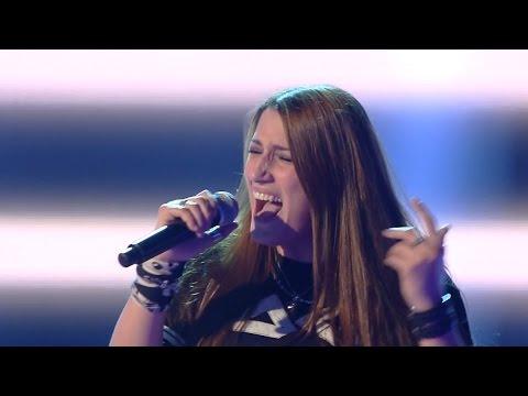 The Voice IT 2015 Ira Green — «Black Dog» Blind Auditions   Голос Италии 2015. Слепые прослушивания