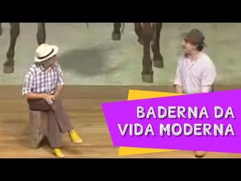 BADERNA DA VIDA MODERNA Quadro dos compadres Nilton Pinto e Tom Carvalho A Dupla do Riso