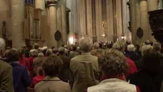 L'Halleluya de Händel par Chorale de Louvain