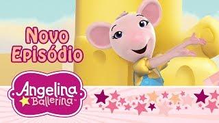 🌟 Angelina Ballerina Brasil 🌟 O Show de Duas Horas de Angelina e Polly (Episódio Completo)