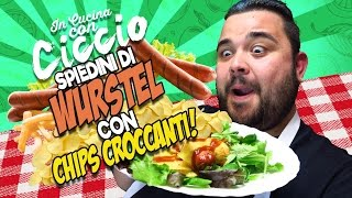 In Cucina Con Ciccio: Spiedini di Wurstel con Chips Croccanti!