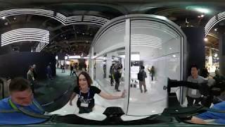 Samsung Booth at CES 2018 (360 video)