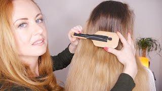 ASMR Hair Treatment | Mic ON Brush | Oils & Crinkle Cap