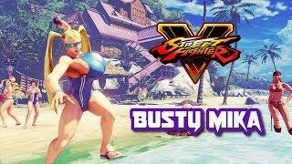 Street Fighter 5 mods Mika Big Breast C4