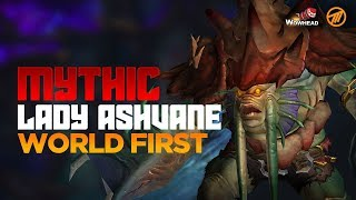 Method VS Lady Ashvane WORLD FIRST - Mythic The Eternal Palace