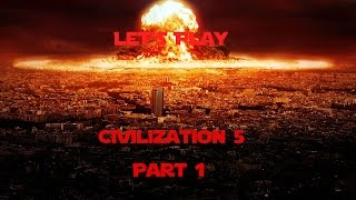 Civilization V: Barbar's and Connor! - Part 1