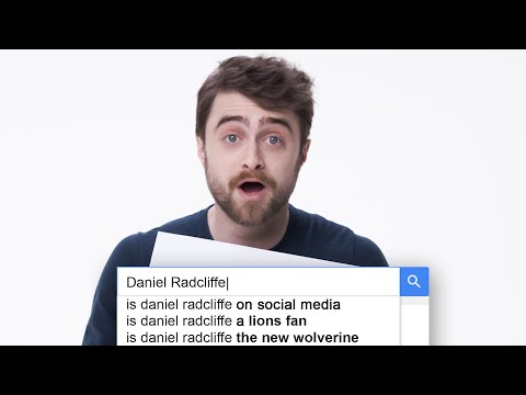 Daniel Radcliffe Answers the Web s Most Searched Questions WIRED