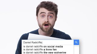 Daniel Radcliffe Answers the Web's Most Searched Questions | WIRED