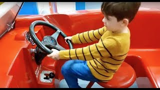 Ride on * Power Wheels *  Driving for Kids * Pretend Play