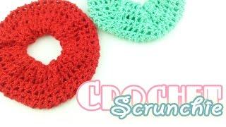 โครเชต์โดนัทรัดผม สวย เรียบง่าย! (Easy Crochet Scrunchie)