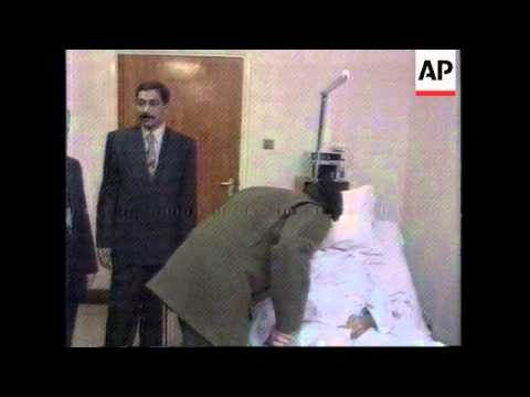 Xxx Mp4 IRAQ YOUTH TV RELEASES PICTURES OF UDAY HUSSEIN IN HOSPITAL 3gp Sex