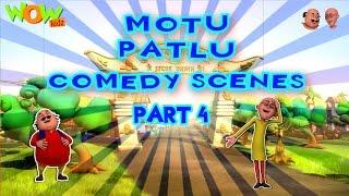 Motu Patlu Comedy Scenes - Compilation Part 4 - 30 Minutes of Fun! As seen on Nickelodeon