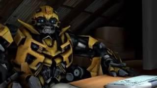REACCIÓN DE BUMBLEBEE al Tailer Transformers The Last Knight