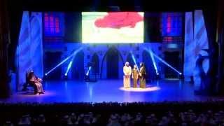 مسرحية اسرتي وطني من حفل جائزة الاسرة العربية ٢٠١٤