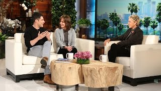 Sally Field and Max Greenfield's Makeout Session