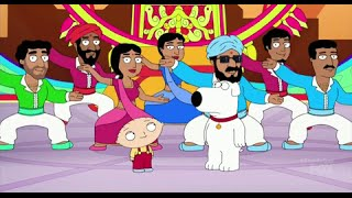 Family Guy- Road to India-BOLLYWOOD DANCE! Stewie & Brian