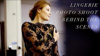 Lingerie Photo Shoot Behind the Scenes Jane's Vanity & Gia Goodrich