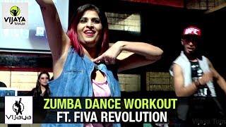 Zumba Dance Workout ft. Fiva Revolution @ Playboy, Novotel | Choreographed By Vijaya Tupurani