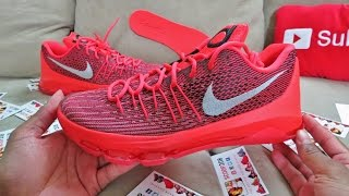 KD 8 SNEAKER REVIEW FIRST LOOK