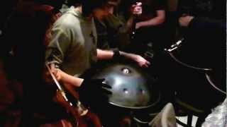 Hang Drum played in an Irish Trad Session