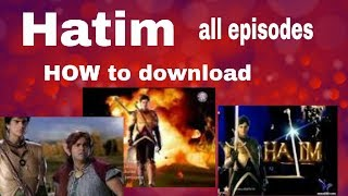 Download and Watch Hatim Tai /Hatim All Full Episodes in tune.pk