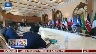 News@10: Ag. President Osinbajo Attends G7 Summit Meeting In Sicily 27/05/17 Pt 1